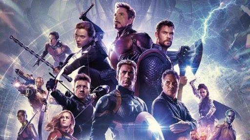 avengers kahramanları captain america, iron man, hawkeye, thor, black widow, captain marvel, hulk ve black panther.