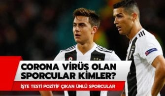 Corona Virüs Testi Pozitif Çıkan Futbolcular yazısının öne çıkarılan görseli