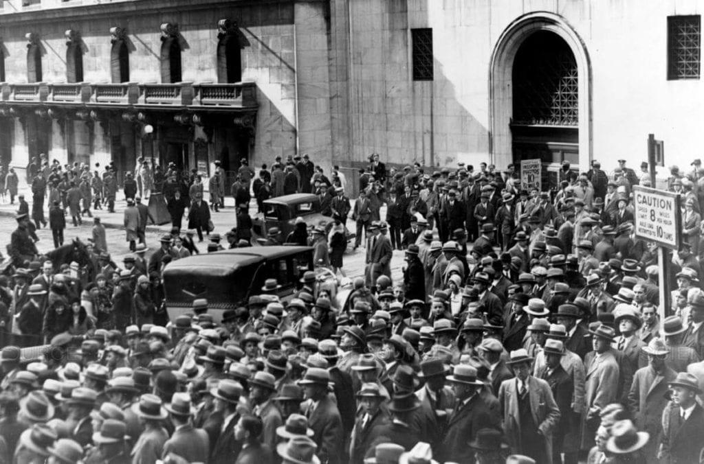 Büyük Buhran (1929) yazısı Gazete Manşetleri