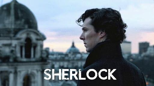 Sherlock dizisi görseli