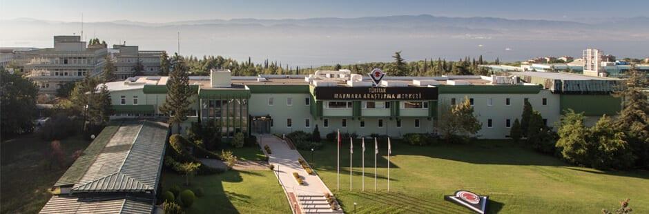 Tübitak Marmara Araştırma Merkezi Binasının Görseli