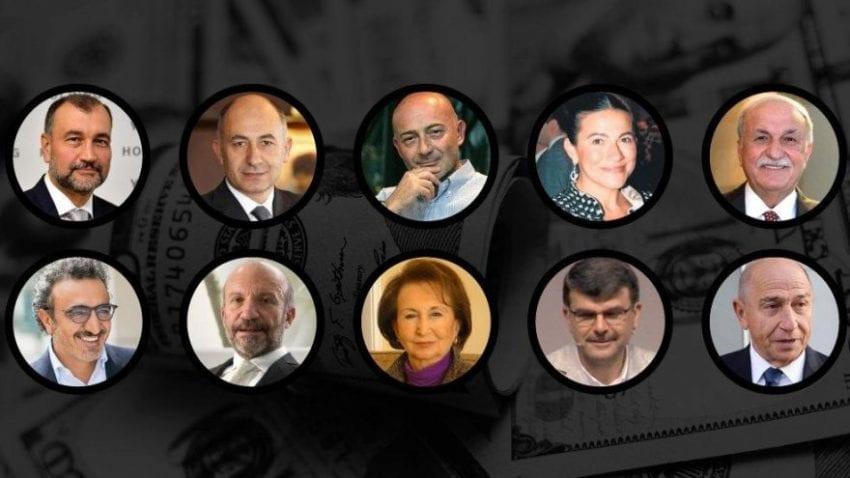 Türkiye'nin En Zengin 10 Kişisi Kimdir? yazısının öne çıkan görseli