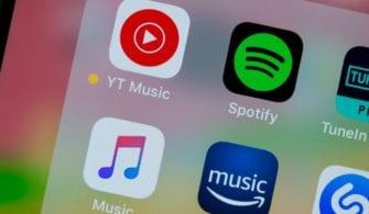 En Popüler Müzik Uygulamaları yazısının öne çıkan görseli.