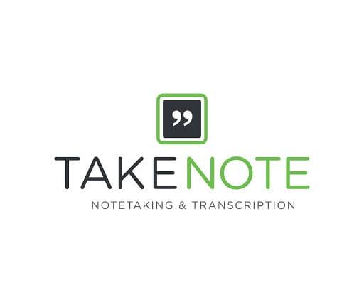 TakeNote sitesinin logosu hemen para kazanmak