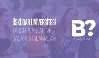 2020 Üniversite Taban Puan ve Başarı sıralamaları