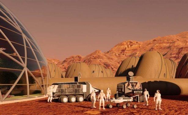 mars yüzeyinde bulunan bilim adamları