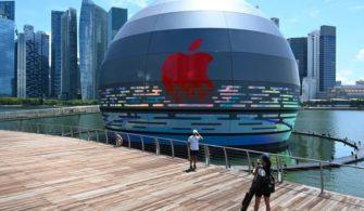 Dünyanın yüzen ilk Apple Store'u yazısının öne çıkan görseli