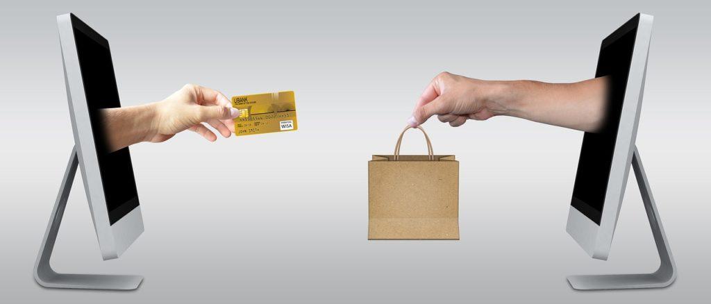 Online alışverişi temsil eden görsel