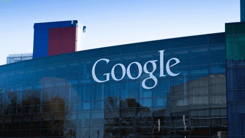google şirket binasının görseli
