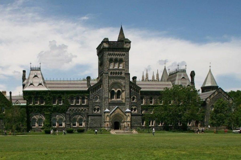 kanada'da bir üniversite görseli