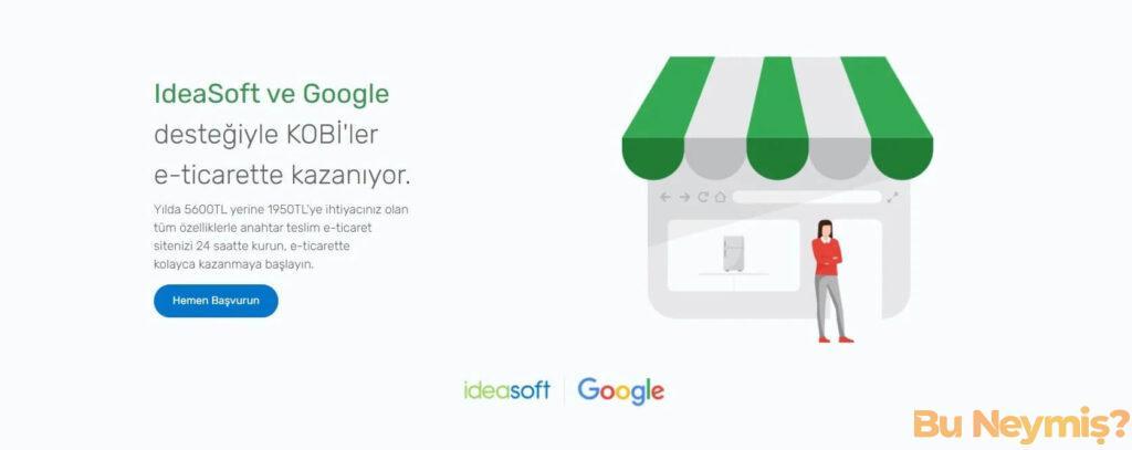 Google Dijital Türkiye platformunu temsil eden görsel