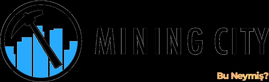 Mining City şirketinin logosunun bulunduğu görsel