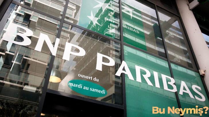 BNP Paribas bakasının görseli