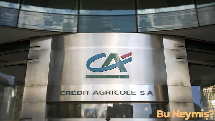 Crédit Agricole bakasının görseli