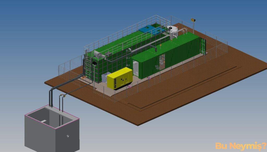 Endüstriyel Su Arıtmayı temsil eden görsel